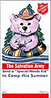 Camping Bear Tag (Pkg of 500)