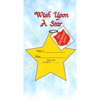 Wish upon a Star Christmas Gift Tags - TSA (Pkg of 1000)