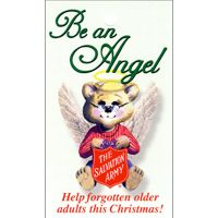 Salvation Army Older Adult Bear Tags (Pkg of 1000)