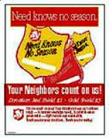 Salvation Army Red Shield Poster (Pkg of 10)
