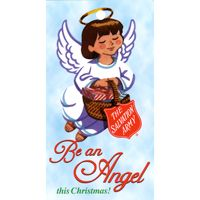 S. A. Christmas Be An Angel Tag (Pkg of 500)