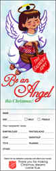 S. A. Christmas  Be An Angel Tag - Pack of 500