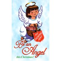 Salvation Army Be An Angel Tag (Pkg of 1000)