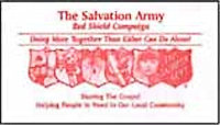 Red Shield Church Offering Envelope (Box of 500)