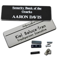 Name Badge - Engraved - 3 x 1.5 inch