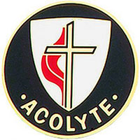 United Methodist Church Acolyte Pin