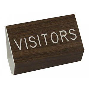 Visitor Pew Sign
