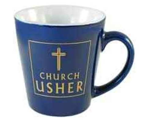 Church Usher Ceramic Mug