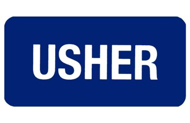 Usher Blue Badges