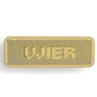 Gold Ujier Magnetic Pin -Usher
