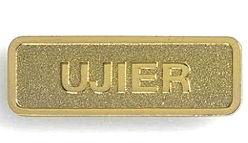 Gold Ujier Magnetic Pin -Usher