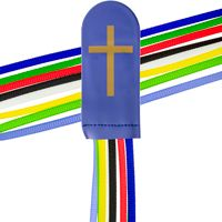 8 Ribbon Multicolor Bible Bookmark
