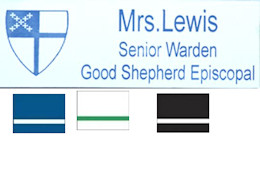 Episcopal Ministry Name Badges