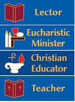 1 x 3 inch Magnetic Minister - Christian Educator Badge