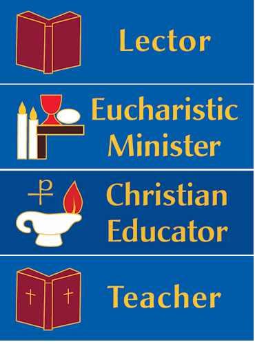 Custom 1 x 3 inch Magnetic Minister - Christian Educator Badge
