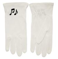 Music Note White Gloves