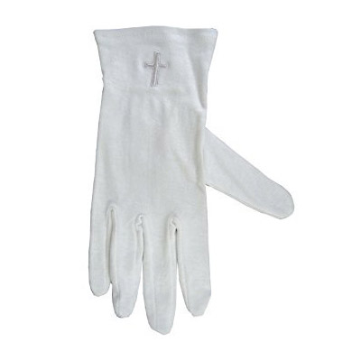 White Glove White Cross Sm-X Large