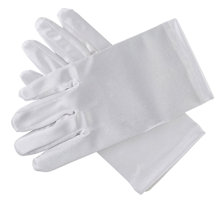 First Communion Gloves  White Plain