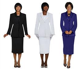 Usher Uniform Skirt Suit