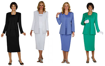 Microfiber Women's Usher Uniforms