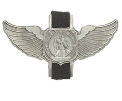 St. Christopher Be My Guide Bike Clip