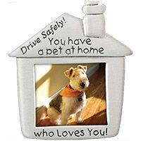 Pet Dog Picture Visor Clip