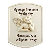 Angel Reminder of Danger Visor Clip