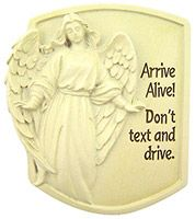 Guardian Angel Don't Text & Drive Visor Clip