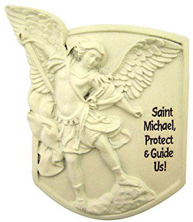 Saint Michael Visor Clip Arrive Alive