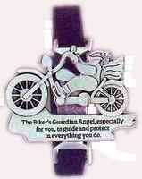 Motorcycle Bike Guardian Angel Clip & Strap