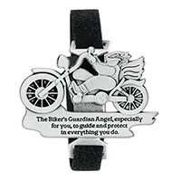 Motorcycle Guardian Angel Clip with Strap