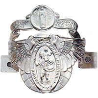 St. Christopher Bike Clip Screw-On