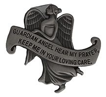 Guardian Angel Hear My Prayers Visor Clip