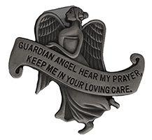 Guardian Angel Hear My Prayers Visor Clip