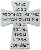 Cross Visor Clip - Protect Me on Life's Journey