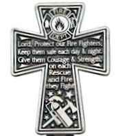 Fire Fighter Prayer Visor Clip