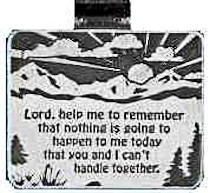 Lord Help Me Remember Visor Clip