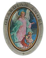 Guardian Angel Picture Visor Clip