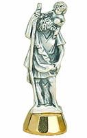 St. Christopher Car Statue