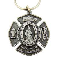 St. Florian Fire Fighter Keychain