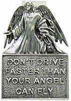 Dont Drive Faster Angel Visor Clip