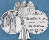 Protect Daddy Guardian Angel Visor Clip