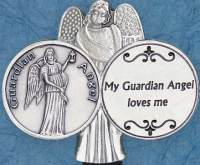 My Guardian Angel Visor Clip