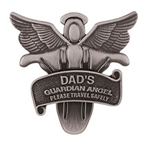 Guardian Angel Visor Clip for Dad, Mom or Sister