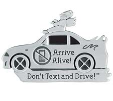 Dont Text & Drive Visor Clip Arrive Alive