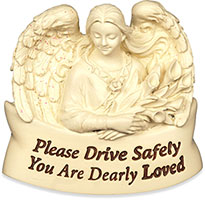 Dearly Loved Automobile Visor Clip