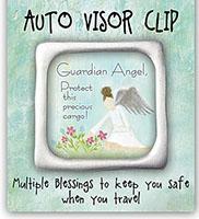 Auto Visor Clip -Protect Precious Cargo