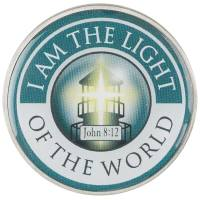 I Am The Light Auto Visor Clip - Automobile