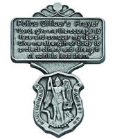 Policeman's Prayer Visor Clip with Shield