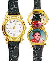 Woman's Picture Frame Watch
